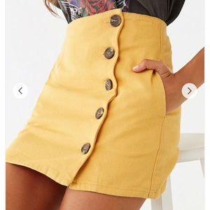 Button up skirt